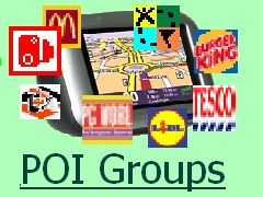 POI Groups